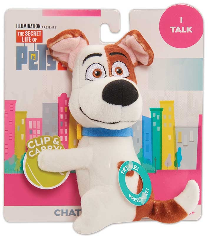 Wholesalers of Secret Life Of Pets2 Chat & Hang Plush - Max toys