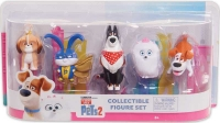 Wholesalers of Secret Life Of Pets2 Collectible Figures 5 Pack toys image