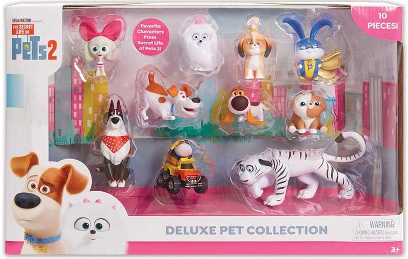 Wholesalers of Secret Life Of Pets2 Deluxe Figure  Set toys