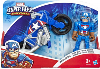 Wholesalers of Sha Captain America And Racer toys image