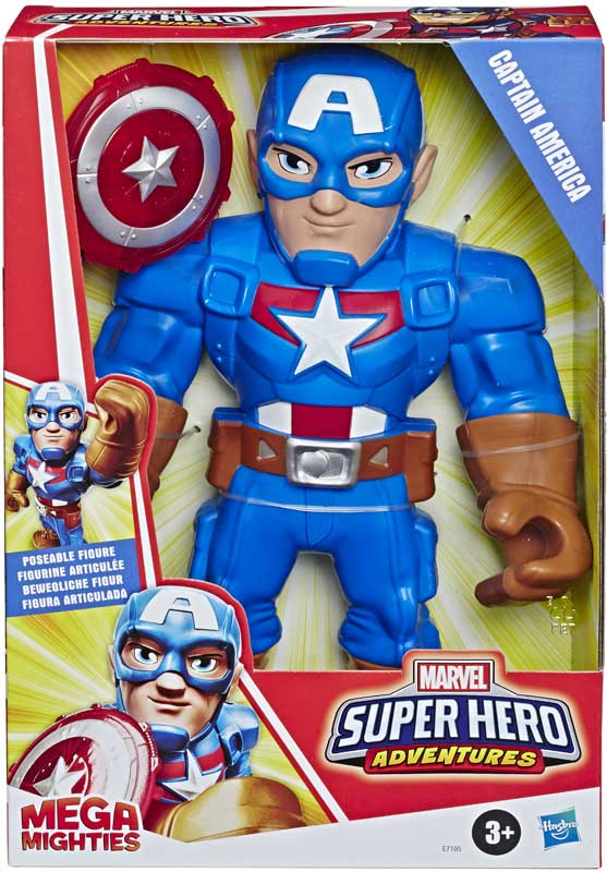 Wholesalers of Sha Captain America Mega Mighties toys