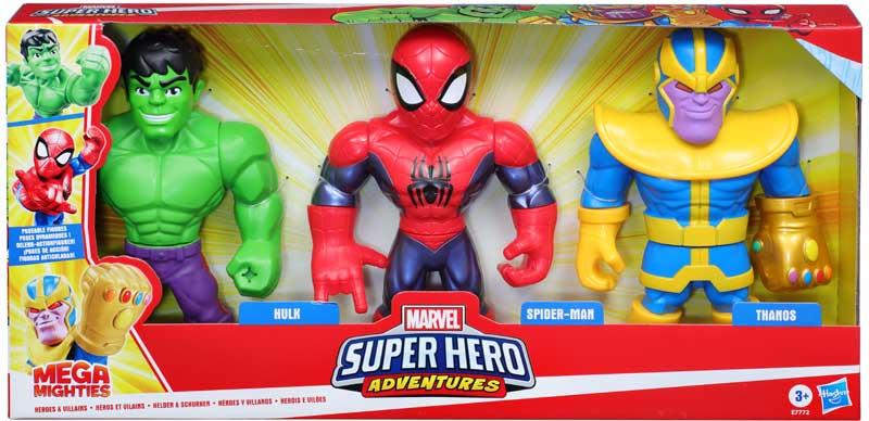 Wholesalers of Sha Mega Mighties Heroes And Villians toys