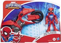 Wholesalers of Sha Mega Mini Motorcycle Spiderman toys image