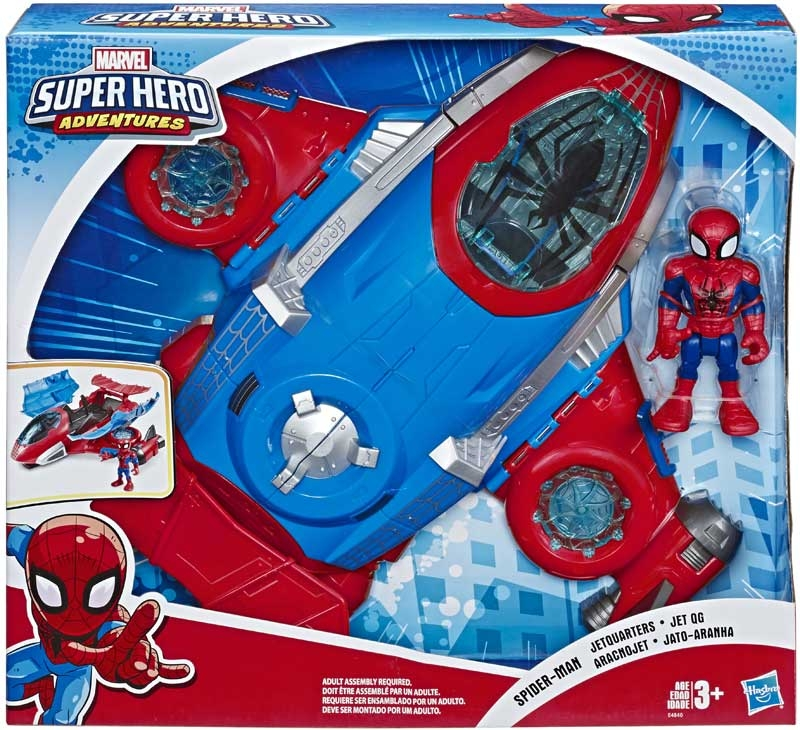 Wholesalers of Spider Man Jetquarters toys