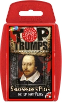 Wholesalers of Top Trumps - Shakespeares Plays toys image