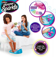 Wholesalers of Shimmer N Sparkle 6-in-1 Massaging Foot Spa toys image 3