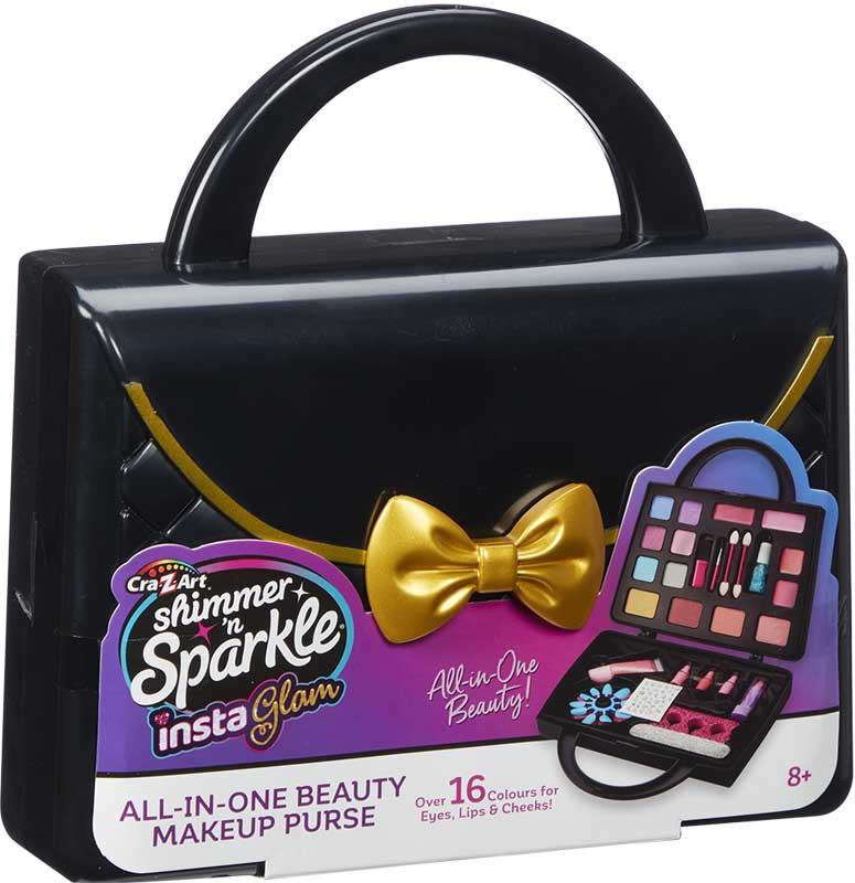 Wholesalers of Shimmer N Sparkle Insta Glam All-in-one Beauty Make-up Purse toys