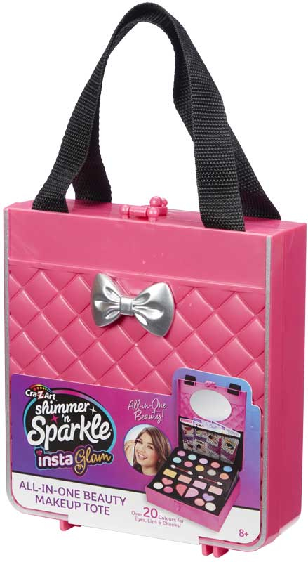 Wholesalers of Shimmer N Sparkle Insta Glam All-in-one Beauty Make-up Tote toys