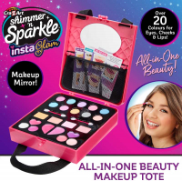 Wholesalers of Shimmer N Sparkle Insta Glam All-in-one Beauty Make-up Tote toys image 4