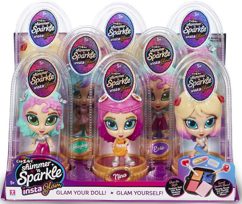 Wholesalers of Shimmer N Sparkle Insta Glam Dolls Asst toys