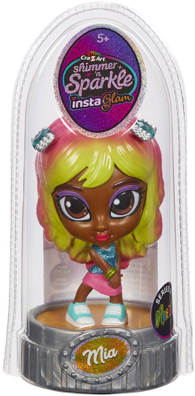 Wholesalers of Shimmer N Sparkle Instaglam Dolls Neon - Mia toys