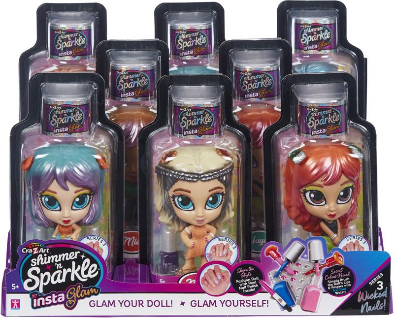 Wholesalers of Shimmer N Sparkle Instaglam Dolls S3 toys