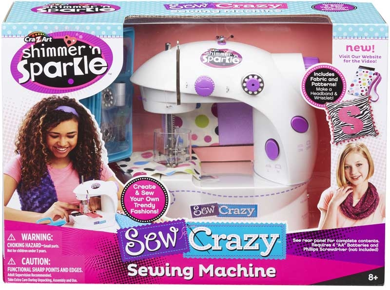 Shimmer N Sparkle Sew Crazy Sewing Machine Wholesale