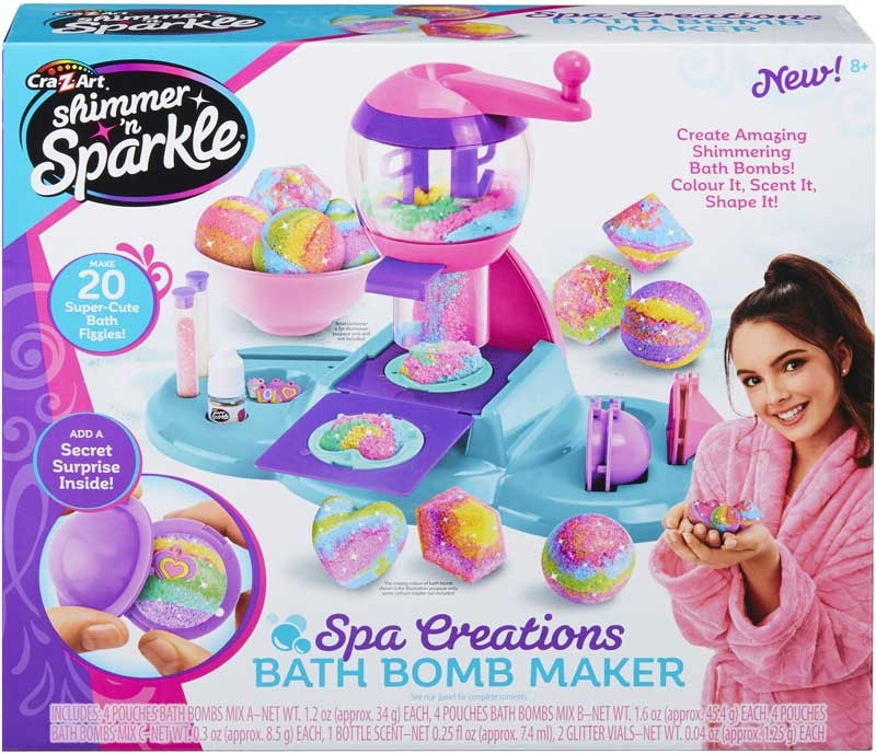 Wholesalers of Shimmer N Sparkle Spa Creations Bath Bomb Maker toys