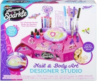 Wholesalers of Shimmer N Sparkle The Real 8-in-1 Nail Design Studio toys image