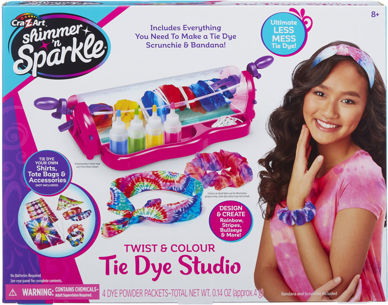 Wholesalers of Shimmer N Sparkle Twist And Colour Tie Dye Studio toys