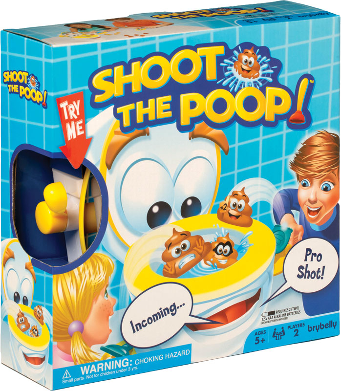 Wholesalers of Shoot The Poop toys