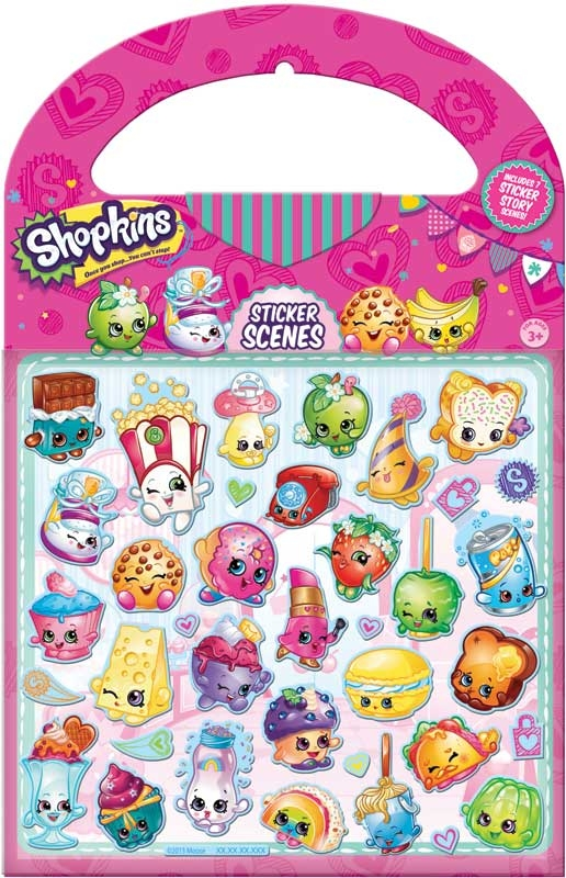 Wholesalers of Shopkins - Sticker Scene toys