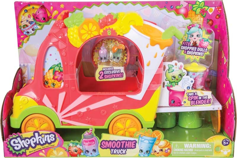 Wholesalers of Shopkins - Shoppies Juice Truck Playset toys