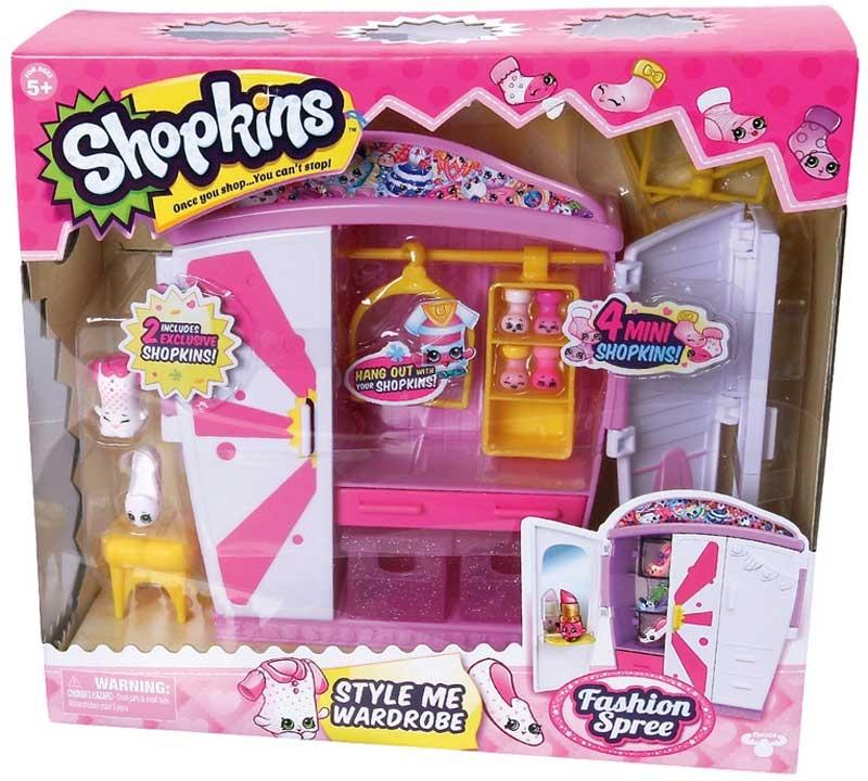 Wholesalers of Shopkins - Style Me Wardrobe Playset toys