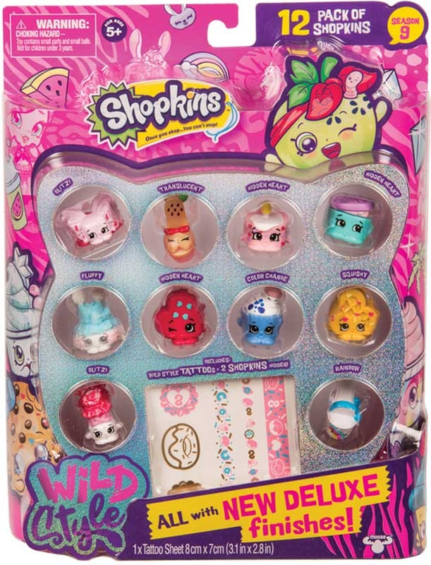 Wholesalers of Shopkins 12 Pack Series 9 toys