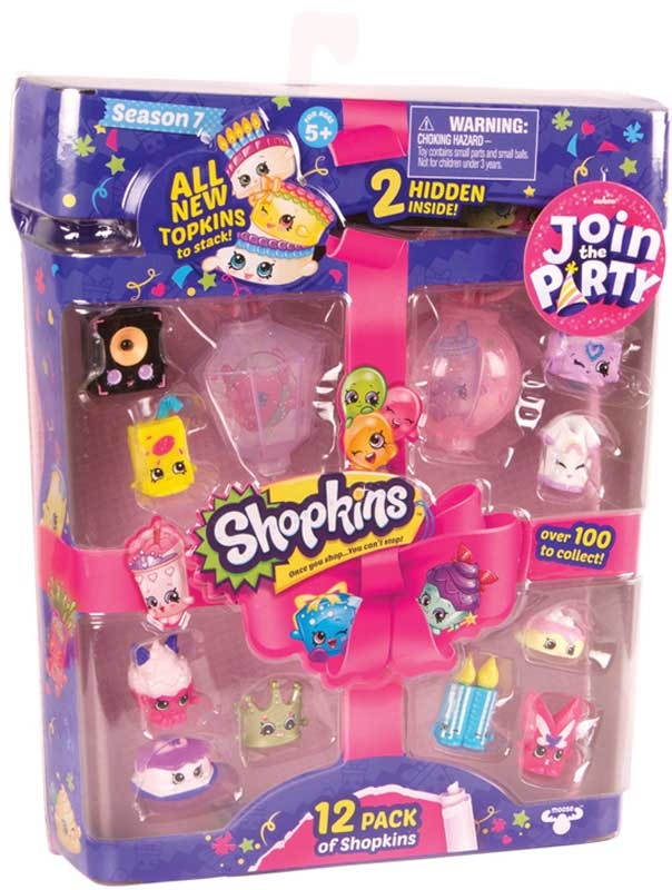 Wholesalers of Shopkins 12pk Season 7 Asst toys