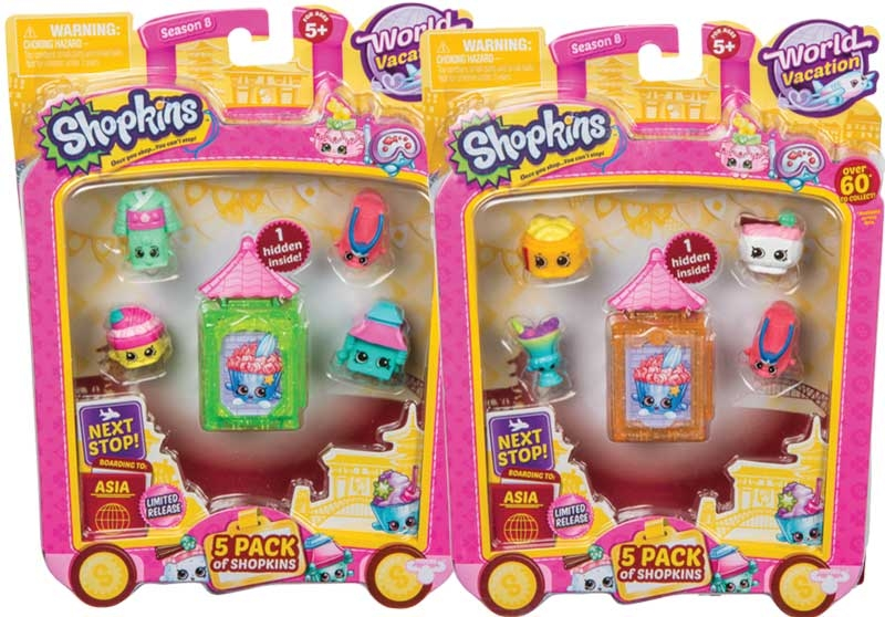 Shopkins 5 Pack