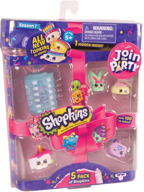 Wholesalers of Shopkins 5pk Season 7 Asst toys