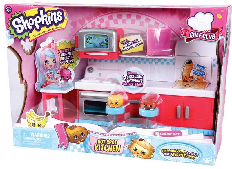 Wholesalers of Shopkins Chef Club Hot Spot Kitchen Playset toys