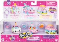 Wholesalers of Shopkins Cutie Cars 3 Pack 3 Asst - S4 toys image