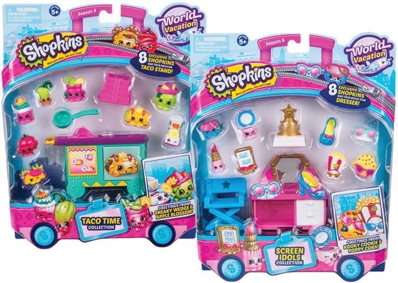 Wholesalers of Shopkins Deluxe Packs 2 Asst - S8 Wave 3 toys