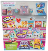 Wholesalers of Shopkins Family Mini Packs Fun Pack toys image