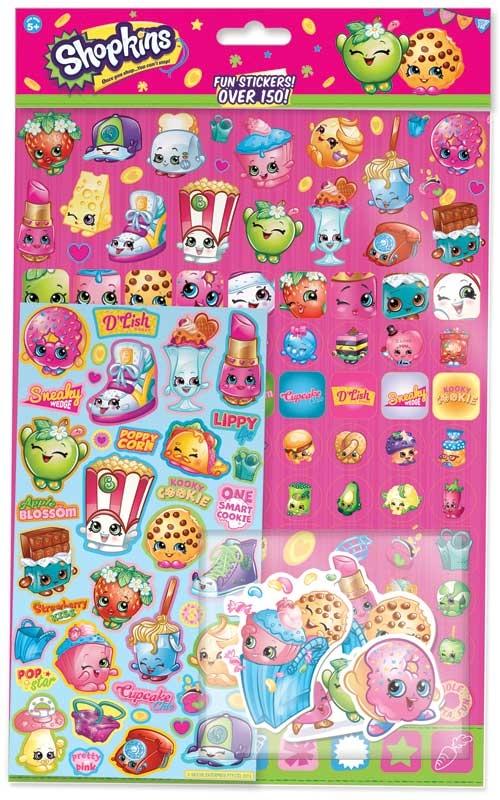 Wholesalers of Shopkins Mega Sticker Pack toys