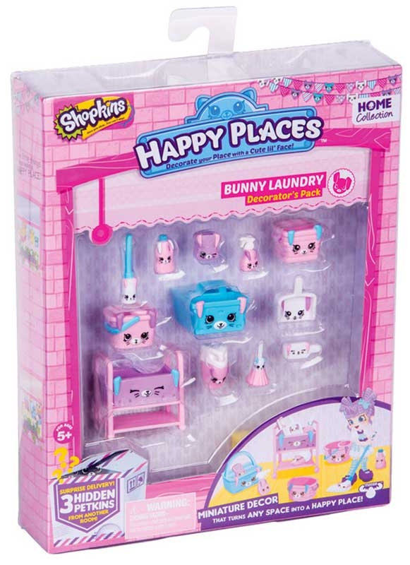 Wholesalers of Shopkins Happy Places Decorator Pack Asst toys