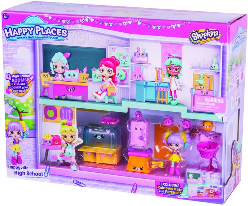 Wholesalers of Shopkins Happy Places Happyville High School Playset toys