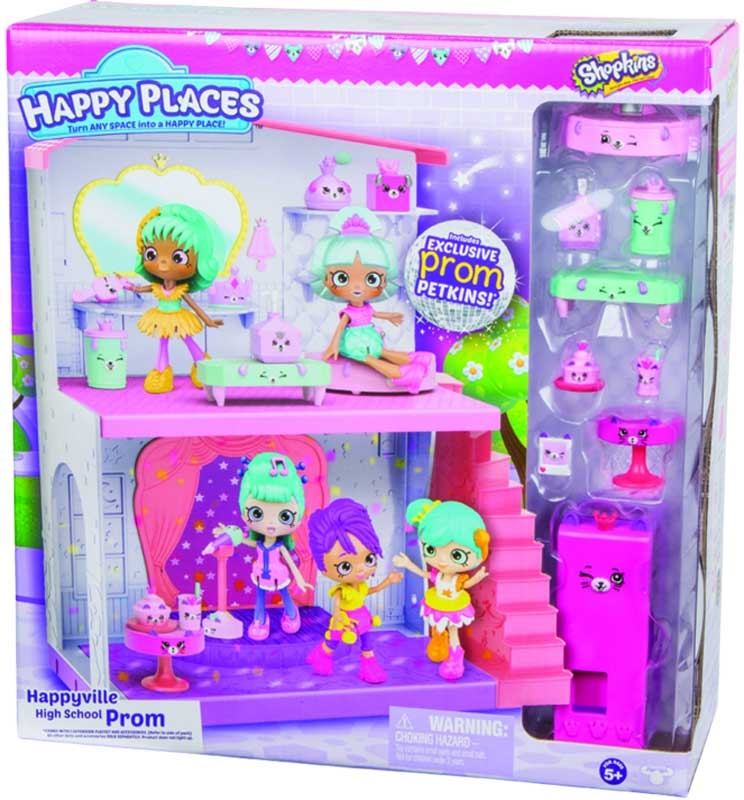 Wholesalers of Shopkins Happy Places Happyville High School Prom Playset toys