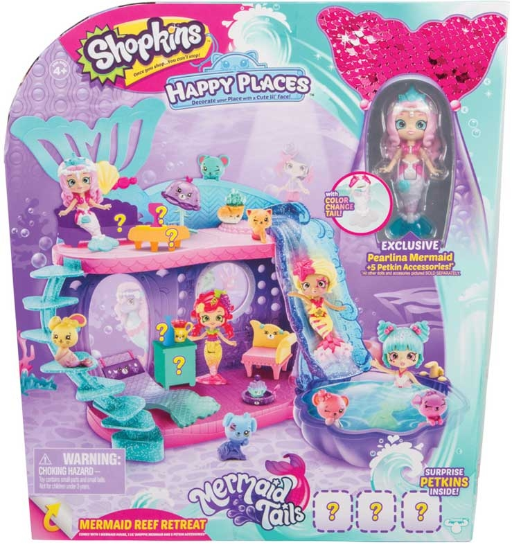 Wholesalers of Shopkins Happy Places Mermaid Tails Mermaid Reef Retreat Pla toys