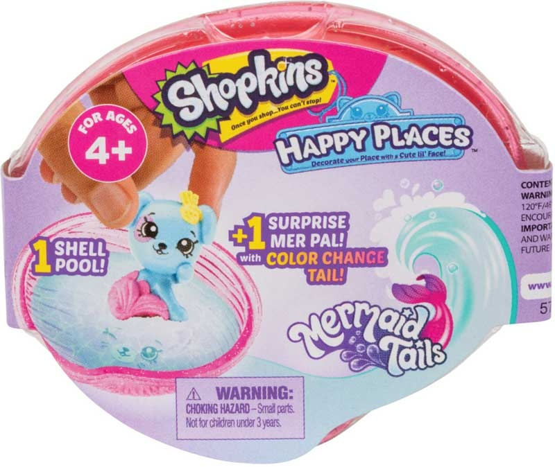 Wholesalers of Shopkins Happy Places Mermaid Tails Surprise Pack toys
