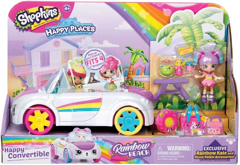 Wholesalers of Shopkins Happy Places Rainbow Beach Convertible Playset toys