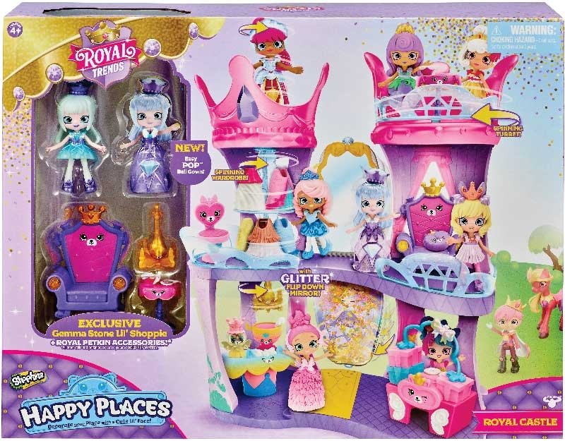 Wholesalers of Shopkins Happy Places Royal Trends Castle Playset toys
