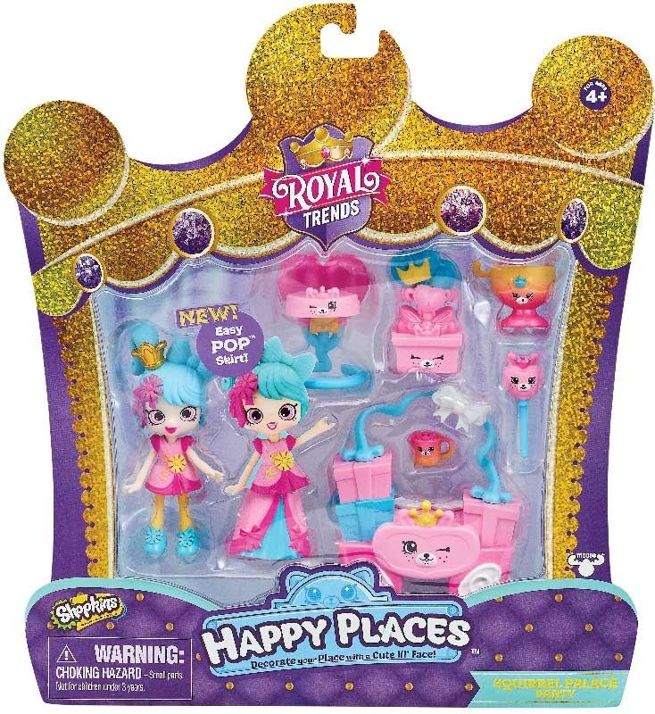Wholesalers of Shopkins Happy Places Royal Trends Surprise Me Packs 4 Asst toys