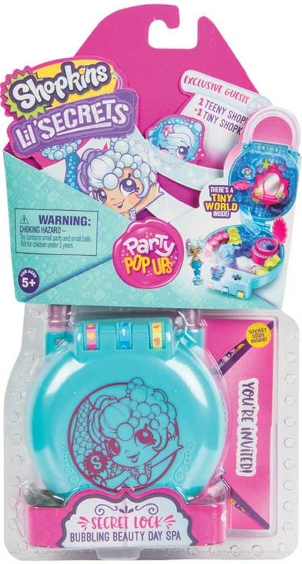 Wholesalers of Shopkins Lil Secrets Party Pop Ups Shop N Lock 3 Asst W1 toys
