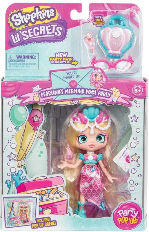 Wholesalers of Shopkins Lil Secrets Party Pop Ups Shoppies Dolls 4 Asst W1 toys