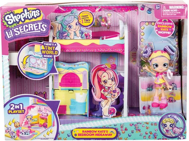 Wholesalers of Shopkins Lil Secrets Rainbow Kates Bedroom Hideaway toys