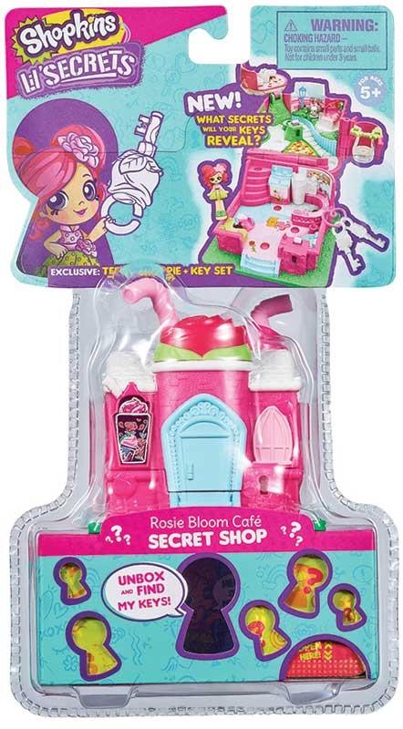 Wholesalers of Shopkins Lil Secrets Shop Keypers Pocket Shop toys