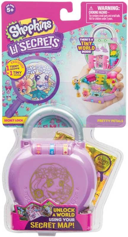 Wholesalers of Shopkins Lil Secrets Shop N Lock toys