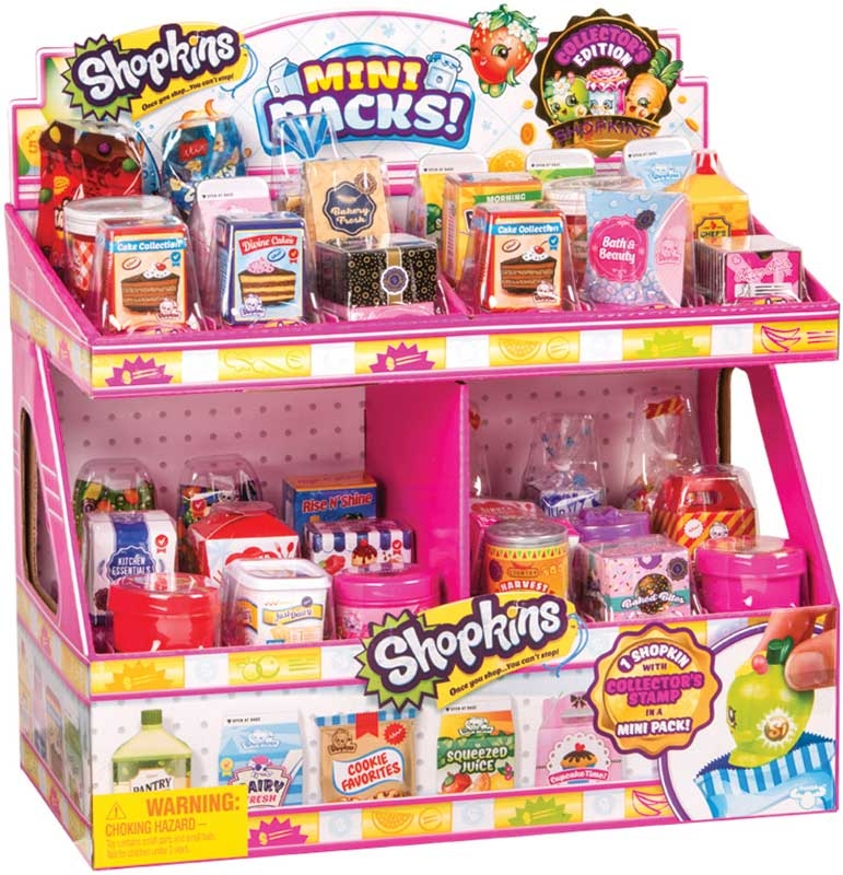 Wholesalers of Shopkins Mini Packs - Supermarket Pack In Cdu toys