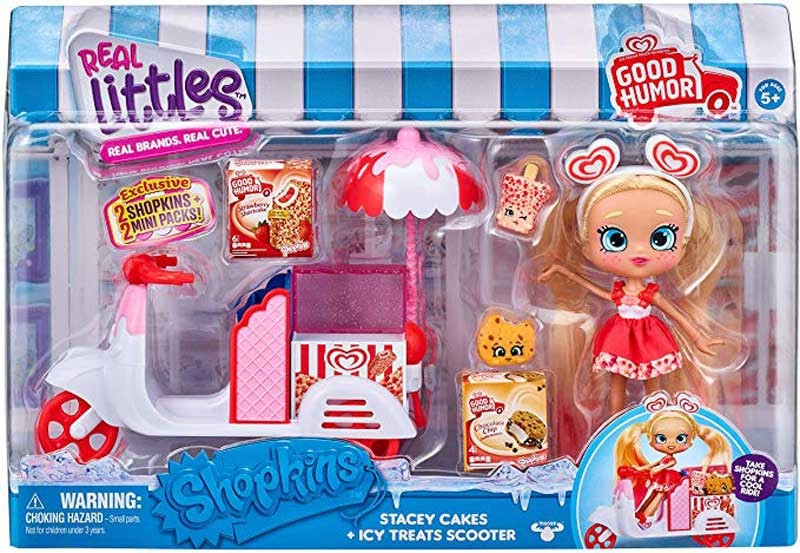 Wholesalers of Shopkins Real Lit Berri Cream And Icy Treats Scooter Pack toys