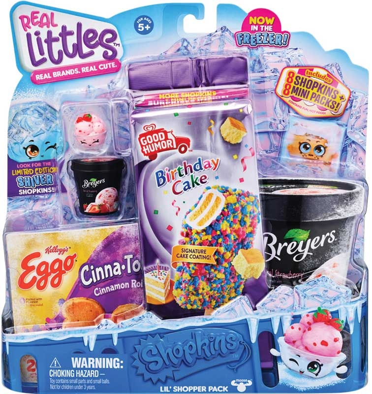 Wholesalers of Shopkins Real Littles Icy Treats - Shopper Pack Asst toys