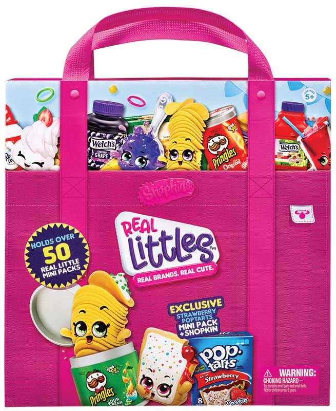 Wholesalers of Shopkins Real Littles Mini Packs Collectors Case toys